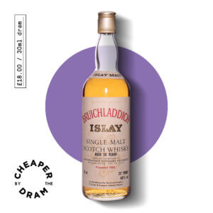 A bottle of CBTD NO.02 Bruichladdich 10 year old 1980s