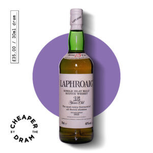 A bottle of CBTD NO.05 Laphroaig 15 year old 1980s