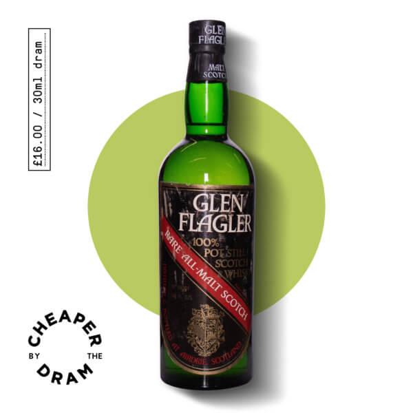 A bottle of CBTD NO.09 Glen Flagler 1970s