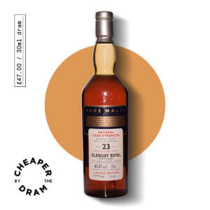 A bottle of CBTD NO.17 Glenury Royal 1971 23 year old Rare Malt Series