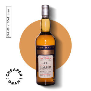 A bottle of CBTD NO.18 Hillside (Glenesk) 1970 25 year old Rare Malt Series