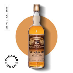 A bottle of CBTD NO.21 Dalwhinnie 1962 20 year old Gordon & Macphail brown label