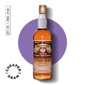 A bottle of CBTD NO.22 Caol Ila 1969 17 year old Gordon & Macphail brown label